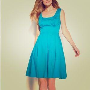 Aqua scoop neck Calvin Klein dress size 2.